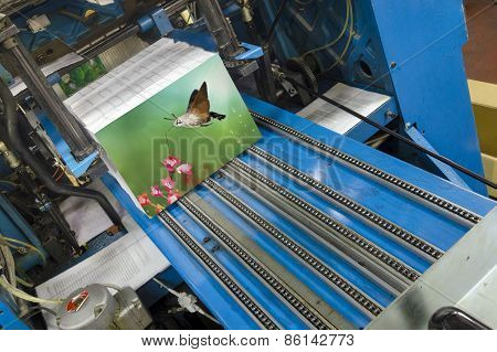 Book production line