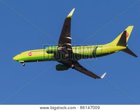 Passenger Plane Boeing 737-800