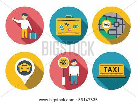 Taxi service set