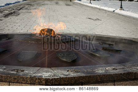 eternal flame ottawa