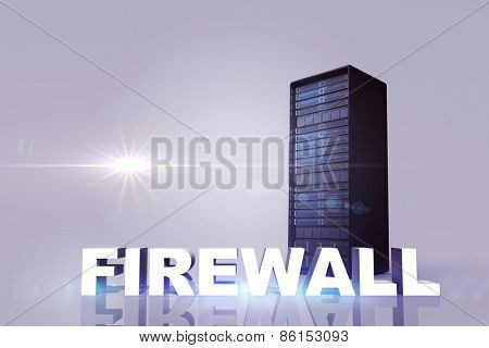 firewall against server tower