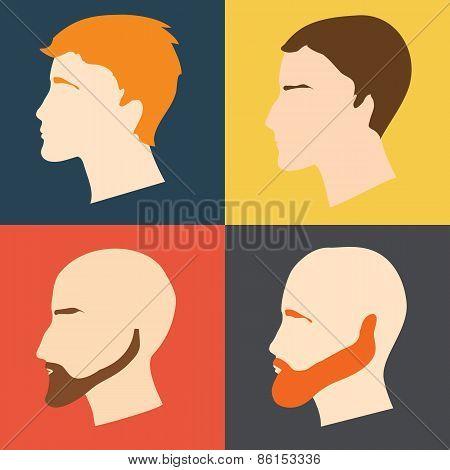 Male Faces