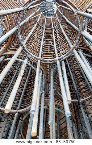 Iron Bundle Of Reinforced(iron Cage)