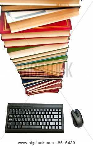 Books And Keyboard