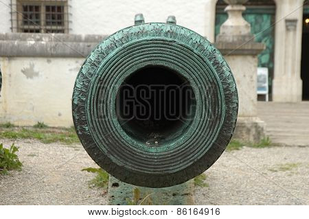Antique Cannon Barrel