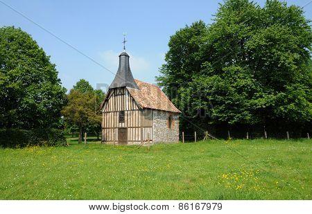 Normandie, La Chapelle De L Essart Mador In Lyons La Foret