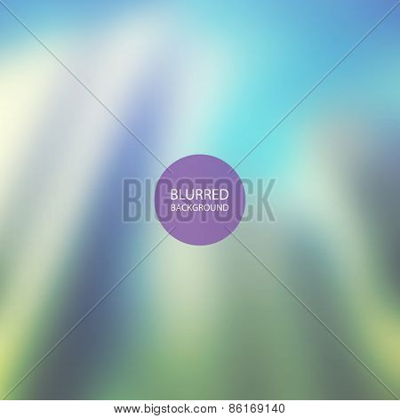 Abstract Background - Blurred Image - Green and Blue