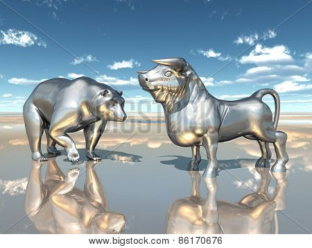 Bear and Bull