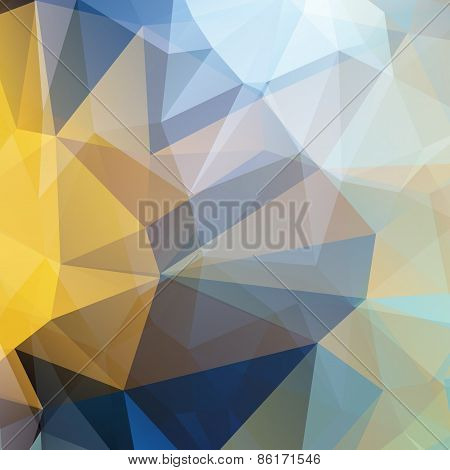 Polygonal Abstract Geometry Background