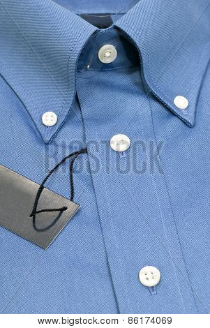New Men's Blue Dress Shirt With Tag
