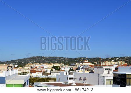 Querenca town in the Serra de Monchique mountain range of the Algarve, Portugal