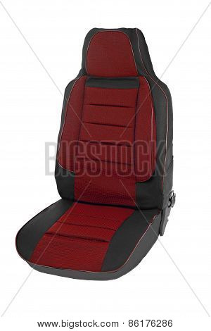 car seats isolated on white