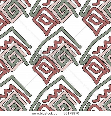 Abstract Background Ornament Geometric Vintage