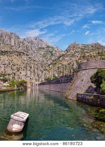 Kotor City Wall Fortification