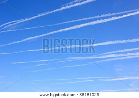 Inversion Traces From Aircraft