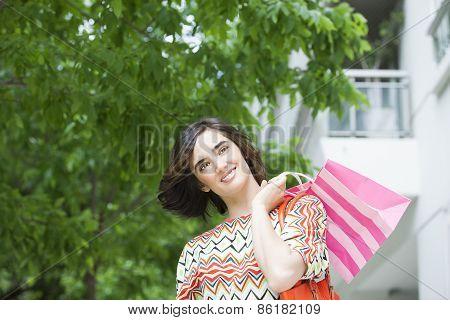 Gorgeus short hair woman
