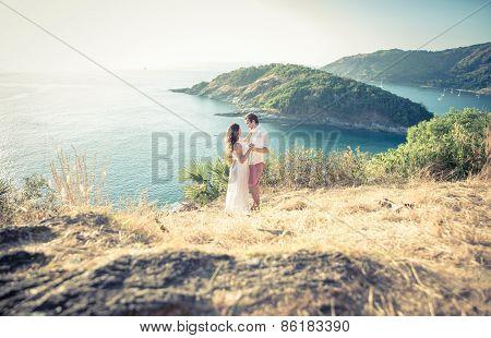couple in love in phuket