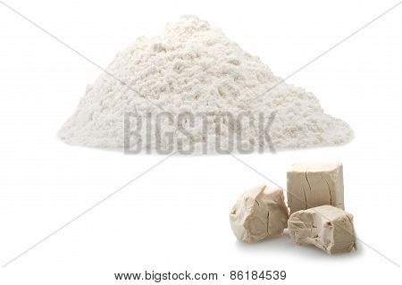 Flour and Yeast cubes