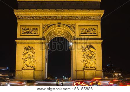 Arch of Triumph of the Star in Paris (France)