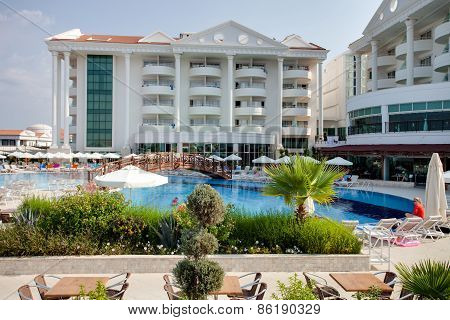 Summer Luxury Resort, pool view, Side, Turkey