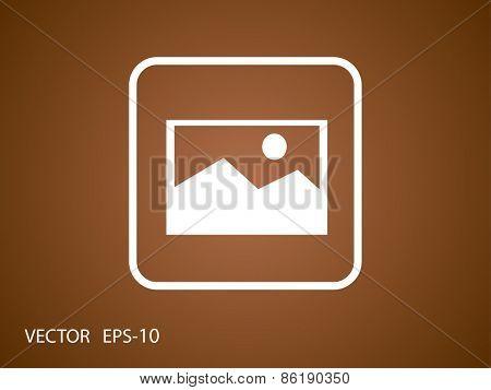 Nature photo icon
