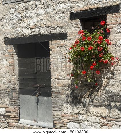 Old House In Marches (italy)