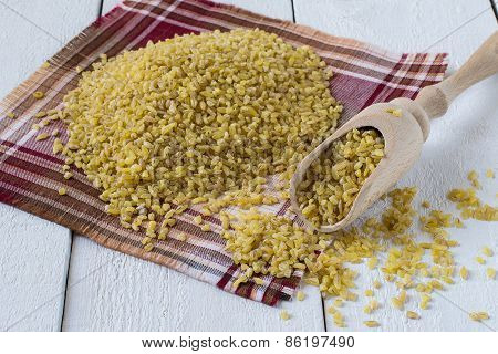 Raw Organic Bulgur
