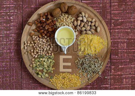 Ingredients Vitamin E
