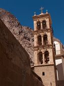 Bell Tower of St Catherine's Monastery, Sinai, Egypt poster