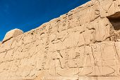 picture of hieroglyph  - old egypt hieroglyphs carved on the stone - JPG