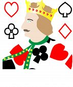 pic of king  - King of Card - JPG