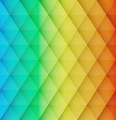 pic of rhombus  - Abstract colorful mosaic vector background - JPG