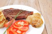 pic of chives  - meat food  - JPG