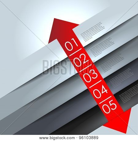 abstract number line background.