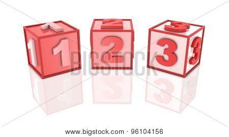 Red Block - 123