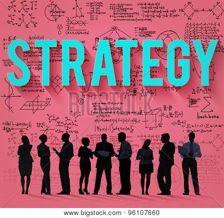 Strategy Vision Planning Target Goals Concept