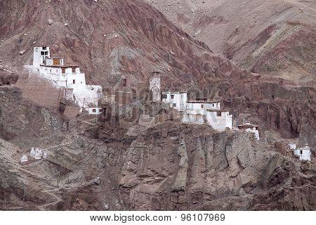 Basgo Monastery Is A Buddhist Monastery In Basgo, Ladakh, India ,
