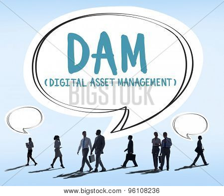 DAM Digital Asset Management Organization Concept
