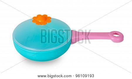 Blue Toy Pan