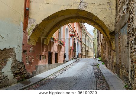 Crannies Of The Old Town, Vilnius, Lithuania