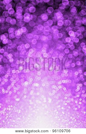 Purple Black Glitter Sparkle Background
