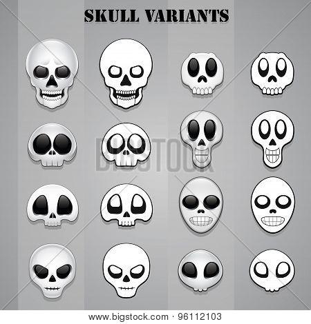 Skull variants