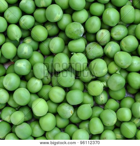 Green Peas Background