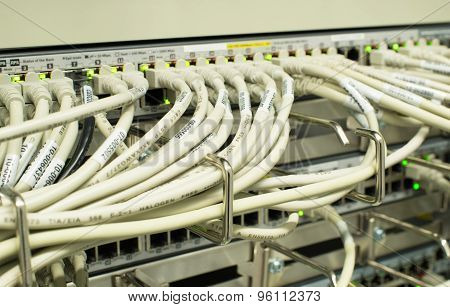 Network LAN patch panel