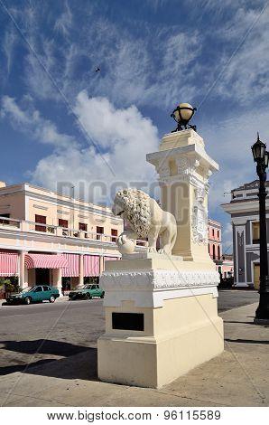 Medici Lions In Cienfuegos, Cuba
