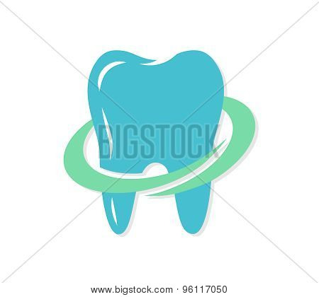 Vector dental logo or icon