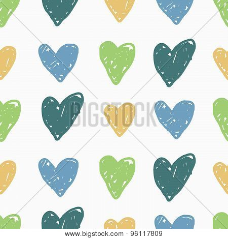 Vector seamless patterns. Modern stylish texture. Cute and colorful background.
