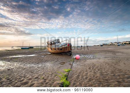 Fishing boats at Instow