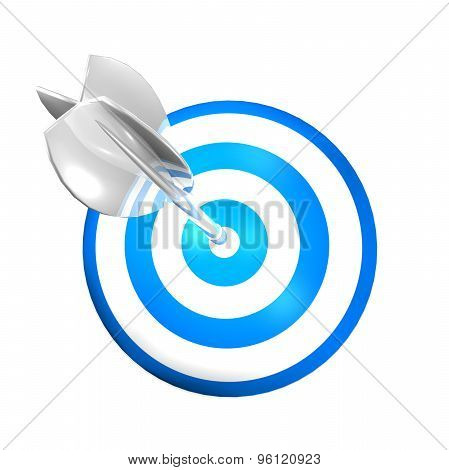 Excellence Abstract Concept With Darts Shield And Arrow