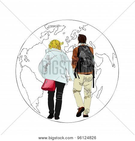 Tourists Of The World